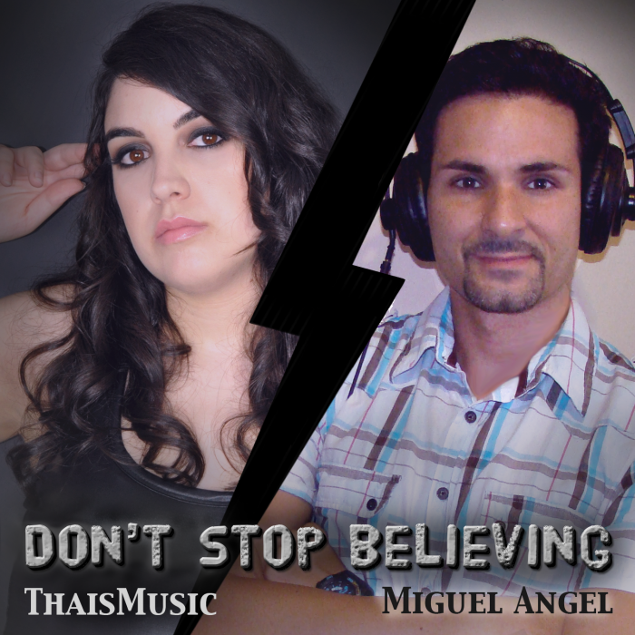 ThaisMusic feat. Miguel Angel - Don't stop believing (A cappella)