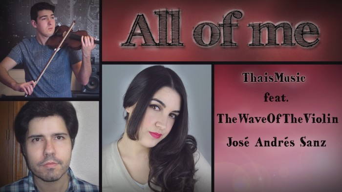 18. ThaisMusic - All of me thumbnail